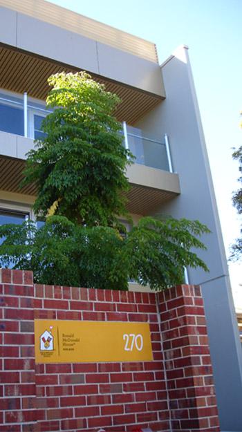 Ronald McDonald House Apartments Masonry