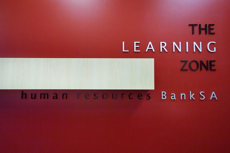 BankSA Training Centre Signage