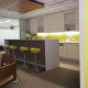 Commonwealth Bank King William Street Kitchen Design by Hodgkison Adelaide Architects