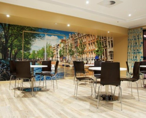 NAASA Rembandt Living Rembrandt Court Cafe Design by Hodgkison Adelaide Architects