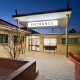 Regency Medical Clinic Entrance Design by Hodgkison Adelaide Architects