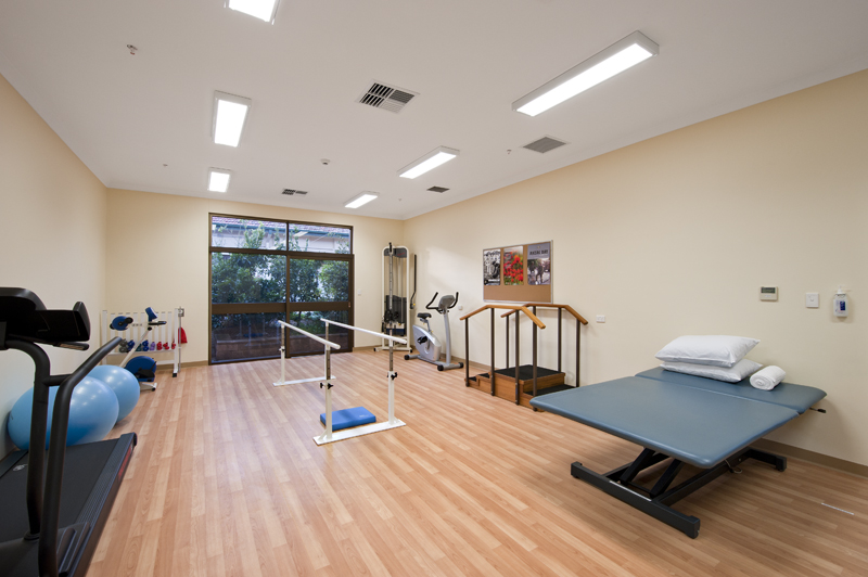 Repatriation Hospital Gym Hodgkison Adelaide Architects
