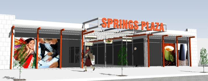 Springs Plaza Retail Design by Hodgkison Alice Spings Architects
