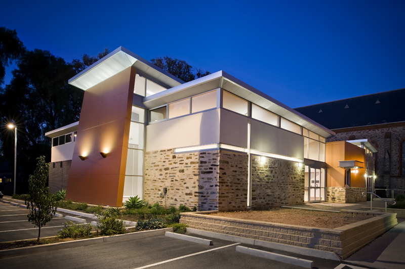 Uniting Church Gawler Exterior Design by Hodgkison Architects Adelaide