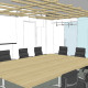 Homestart Finance Boardroom 3D Design by Hodgkison Adelaide Architects