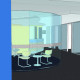 Police Credit Union Meeting Room 3D Interior Design Casuarina Darwin