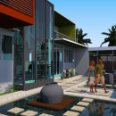 3D Model Private Residence Exterior Nightcliff NT