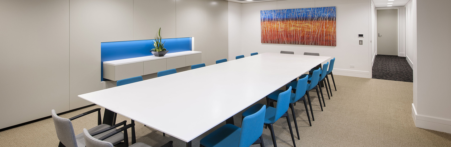Corporate Boardroom Desihgned by Hodgkison Architects