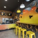 Busy Bee Cafe Interior Design by Hodgkison Darwin