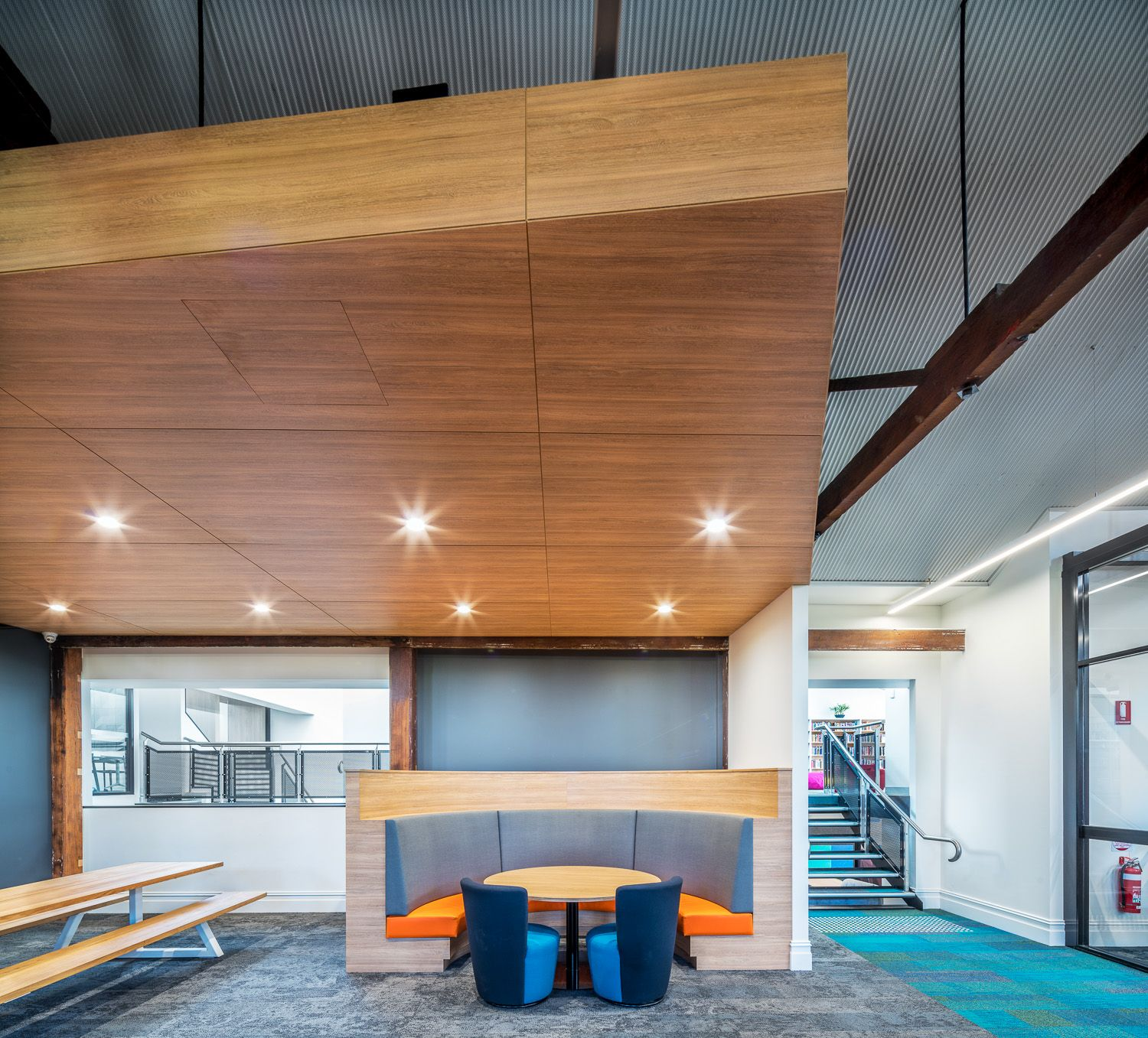 Temple College Learning Hub Design by Hodgkison Architects Adelaide