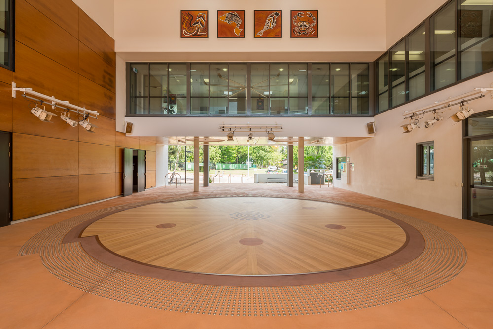 ACIKE Ceremonial Area designed by Hodgkison Architecs Darwin