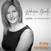 Kristy McMillan Workspace Designer of the Year