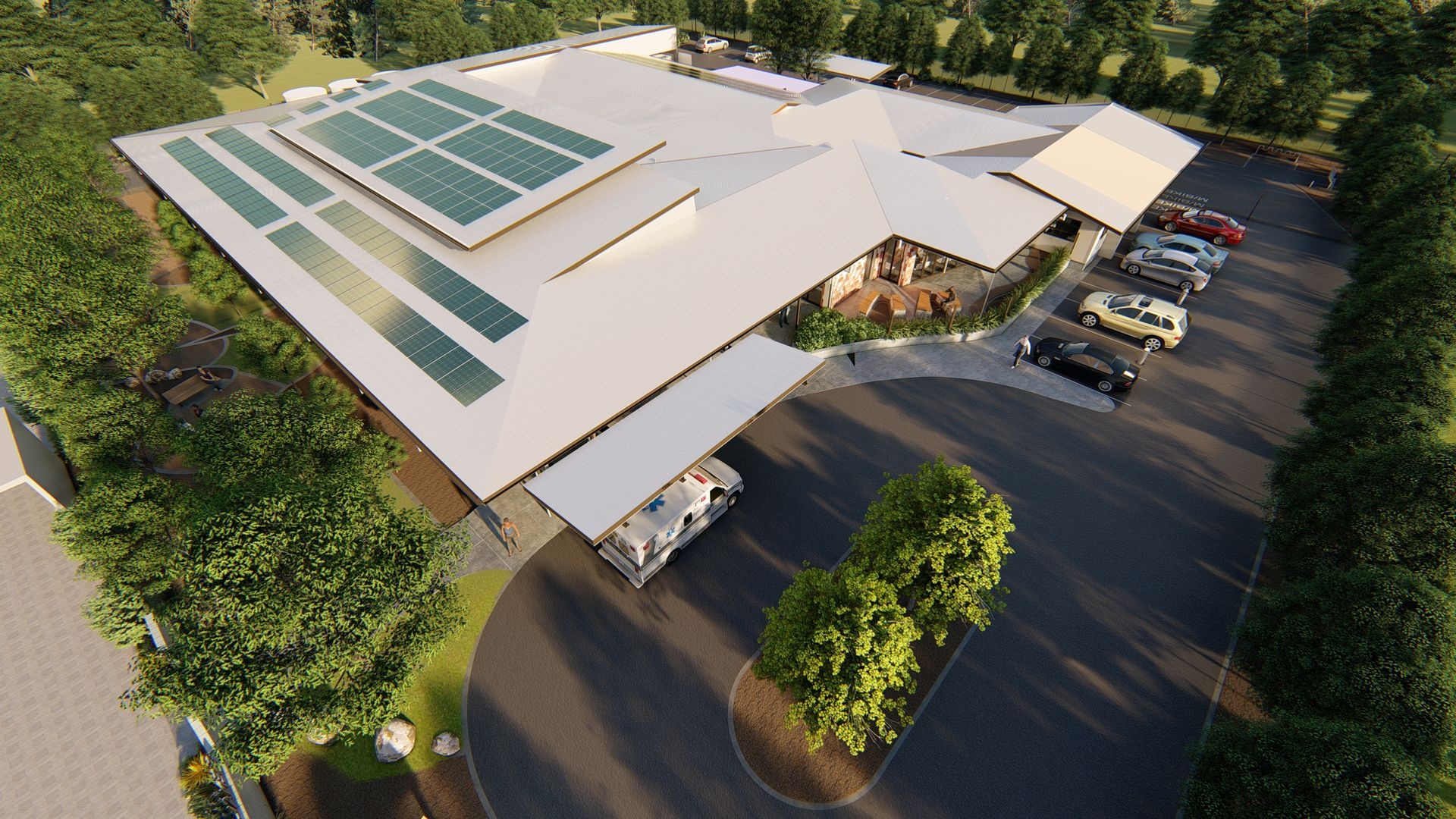 Nightcliff Renal Centre Redevelopment Design by Hodgkison Architects.