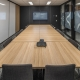 Corporate boardroom designed by Hodgkison Architects Adelaide