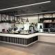Cafe servery designed by Hodgkison Architects Adelaide