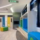 The Memorial Hospital Paediatric Day Stay Unit Reception Area Hodgkison Architects Photography by Ross Williams
