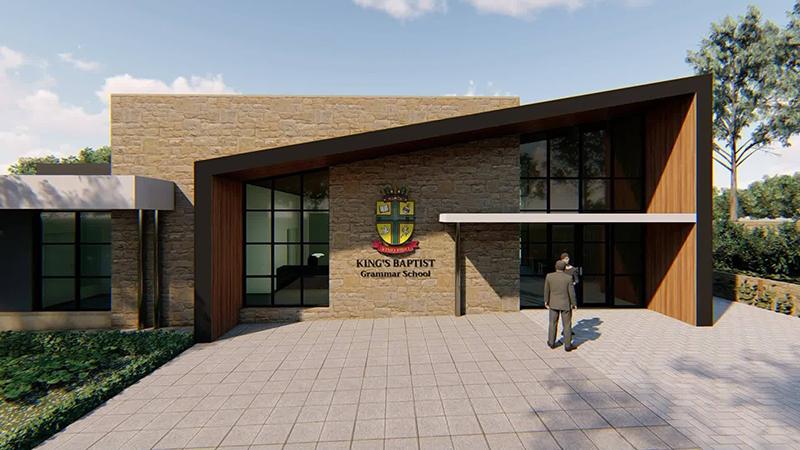 Hodgkison Kings Baptist Grammar School front