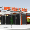 Springs Plaza East Architectural 3D Design Alice Springs