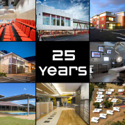 25 years celebration collage