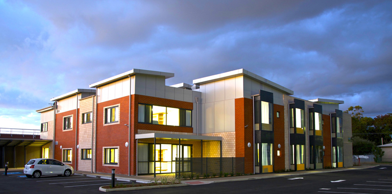 NAASA Rembandt Living Rembrandt Court Design by Hodgkison Adelaide Architects