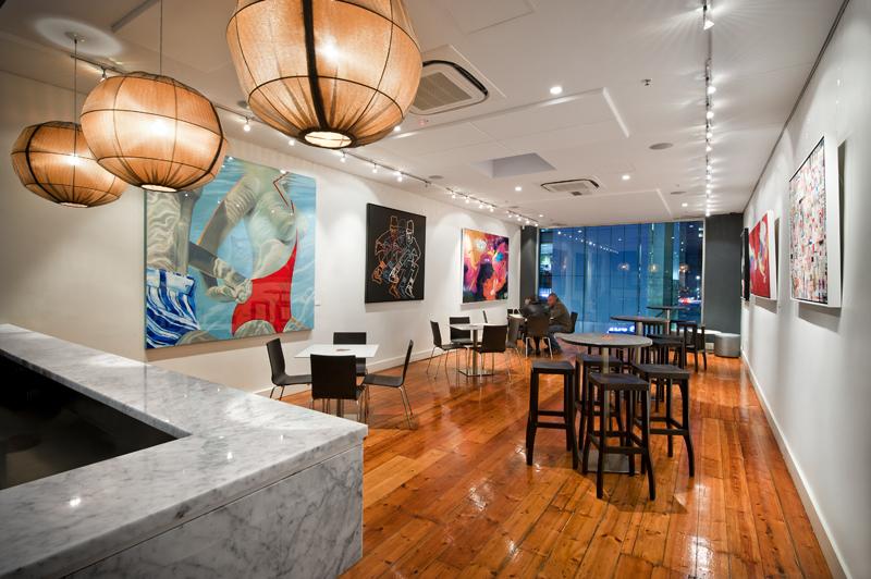 Gallery Bar Adelaide Interior Design by Hodgkison Adelaide Architects