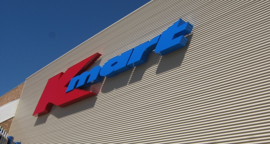 Kmart Signage Design by Hodgkison Alice Spings Architects