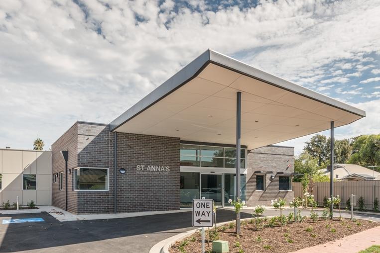 St Annas Entrance Design by Hodgkison Adelaide Architects