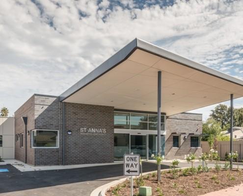 St Annas Residential Care Facility Exterior Verandah Design by Hodgkison Adelaide Architects