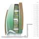 Architectural Design 3D Multistorey Floor Section