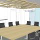Homestart Finance Boardroom 3D Design by Hodgkison Adelaide Architects