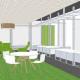 Homestart Finance Workstation 3D Design by Hodgkison Adelaide Architects