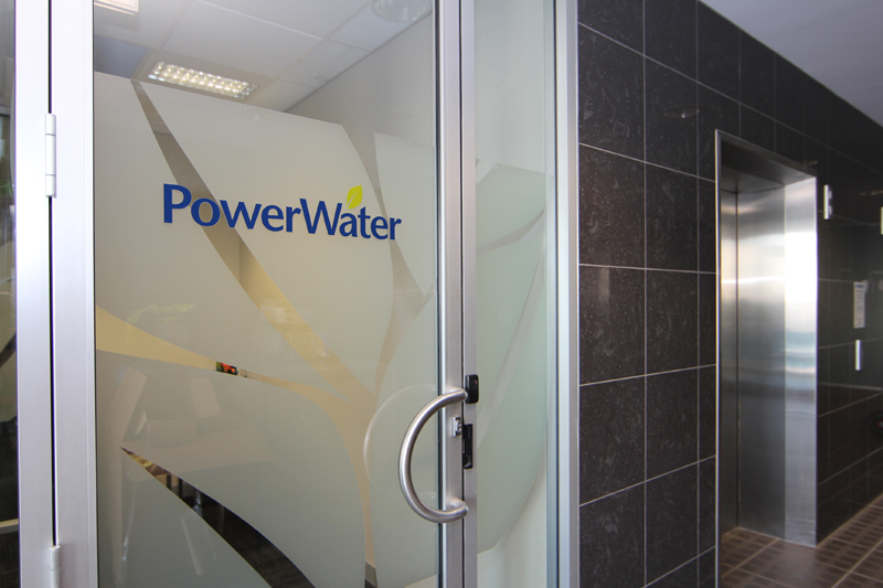 Power and Water Corporation Entrance Northern Territory
