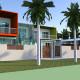3D Model Private Residence Nightcliff Design by Hodgkison Architects