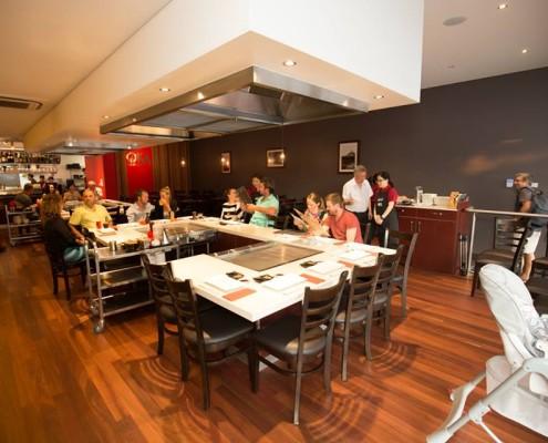 Oka Tepinyaki Restaurant Darwin Design by Hodgkison Architects