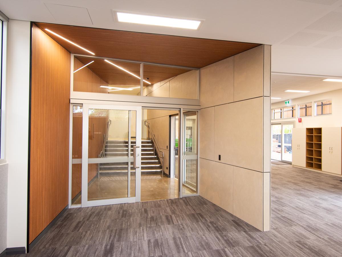 Pilgrim School Refurbishment design by Hodgkison Architects Adelaide