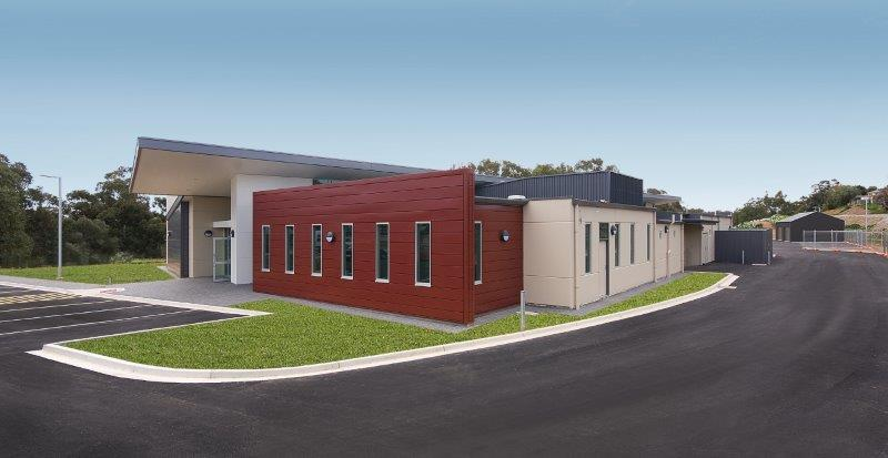 Salvation Army Gawler designed by Hodgkison Architects