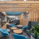 Corporate break out space designed by Hodgkison Architects Adelaide