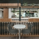Corporate cafe designed by Hodgkison Interiors Adelaide