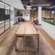 Corporate cafe designed by Hodgkison Interior Design Adelaide